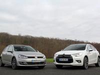 Comparatif vidéo Citroën DS4 - VW Golf :  presque Premium