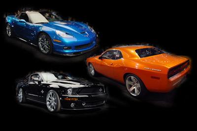 Barret-Jackson : Shelby GT500 KR mieux que Dodge Challenger SRT-8 mais moins bien que Corvette ZR1