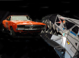 Barrett-Jackson : Robosaurus bouffe General Lee