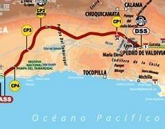 Dakar 2010 : 6ème étape, le parcours, Despres devant et Coma à l'attaque