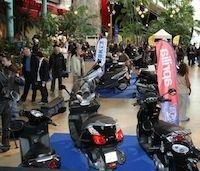 Salon du scooter de Paris : l'an 2… du 25 au 27 mars 2011.