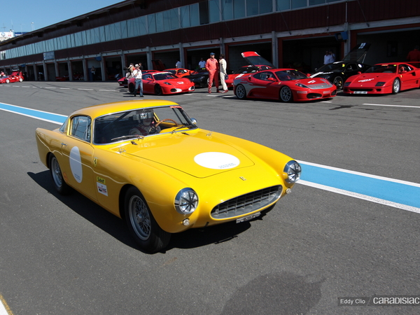 Photos du jour : Ferrari 250 GT Boano/Ellena (Sport & Collection)