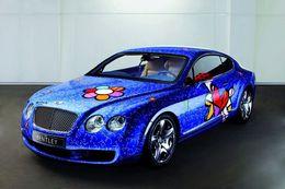 La Bentley Continental GT rencontre le Pop Art: attention les dégâts