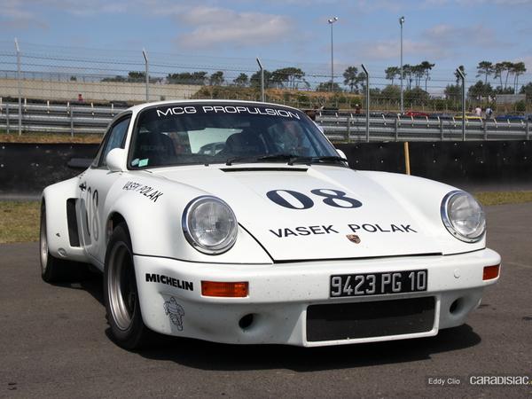 Photos du jour : Porsche 911 RSR (Le Mans Classic)