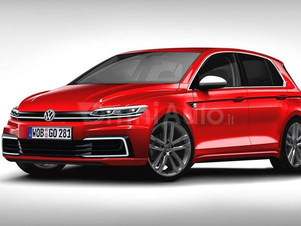 Future Volkswagen Golf : comme ça ?
