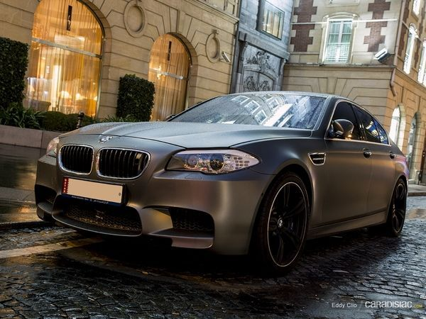 Photos du jour : BMW M5 F10