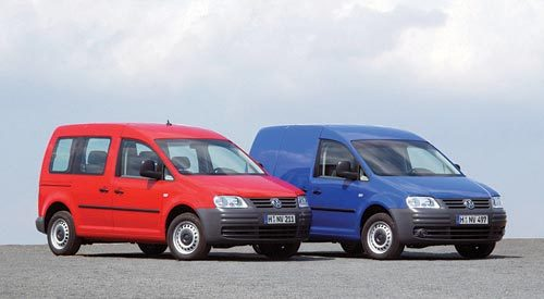 Le Caddy, 1er ludospace de Volkswagen