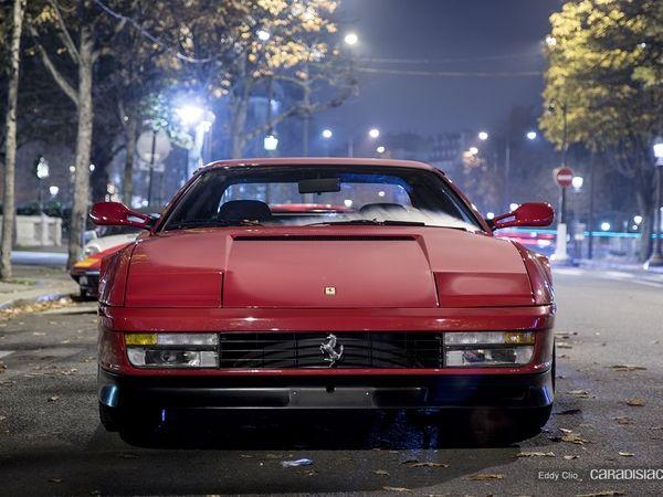 Photos du jour : Ferrari Testarossa (Vente Artcurial)