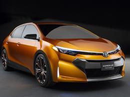 Détroit 2013 : Toyota Furia Concept - la Corolla de demain