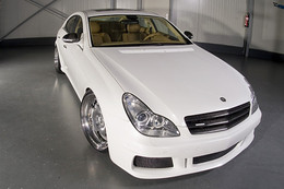 Mercedes CLS by Wheelsandmore : White Label Bling-Bling