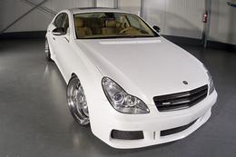 Mercedes CLS by Wheelsandmore : White Label Bling-Bling