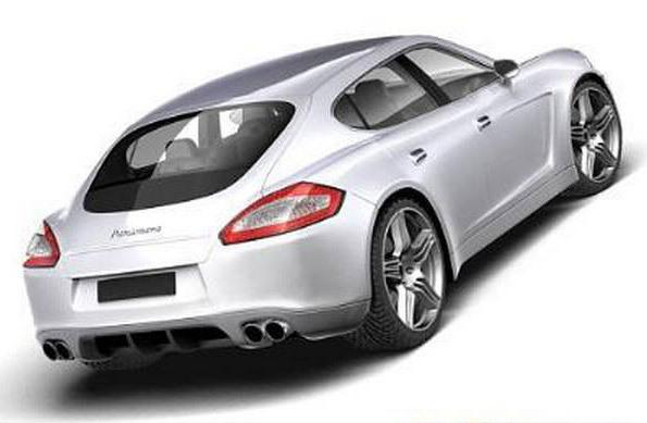 Porsche Panamera : les détails