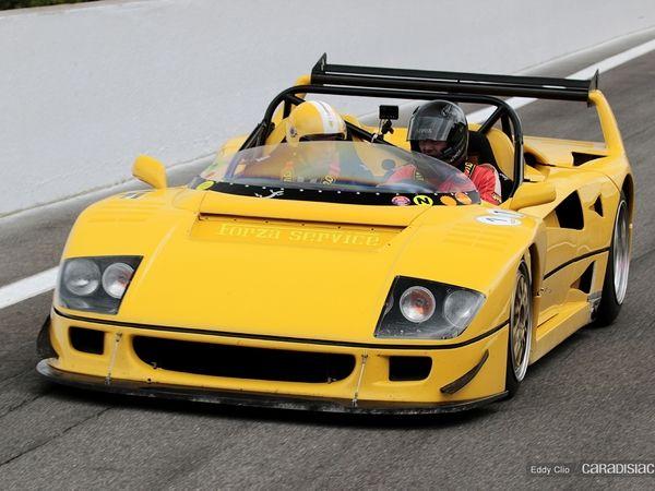 Photos du jour : Ferrari F40 LM Beurlys (Modena Track Days)