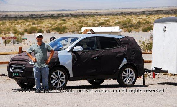 Syshot : le nouveau Hyundai iX35 est presque prêt