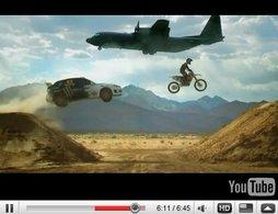 [vidéo Top Gear] : Ken Block, Ricky Carmichaël, Captain Slow et ... des avions. Géant !