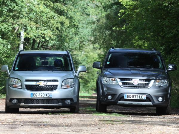 Fiat Freemont vs Chevrolet Orlando : la guerre des prix