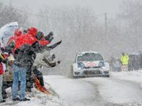 WRC Monte-Carlo 2013 : c'est parti sous la neige