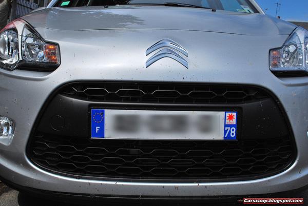 La nouvelle Citroën C3, déjà dans la circulation