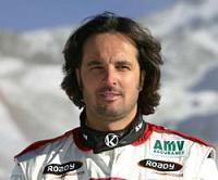 Yvan Muller au départ du Dakar 2007