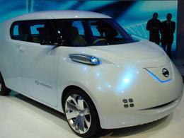 Mondial 2010 : Nissan TownPod : l'I-Pod des villes