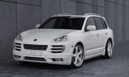 Porsche Cayenne Diesel par Techart : use with caution