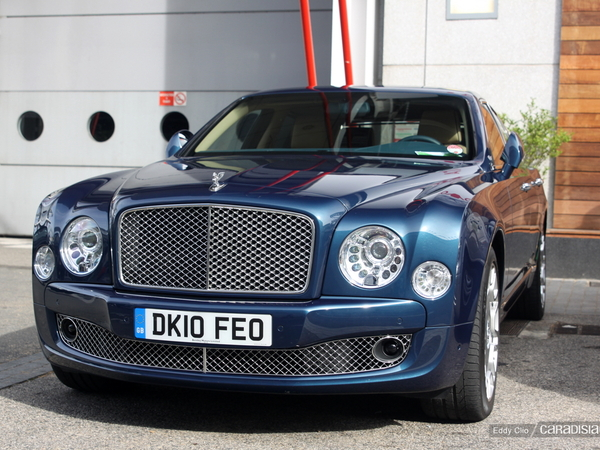 Photos du jour : Bentley Mulsanne