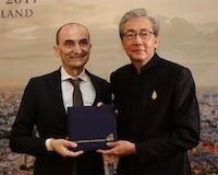 Ducati: Claudio Domenicali reçoit le titre de Conseiller Honoraire en Investissement par le Bureau des Investissements Thaïlandais