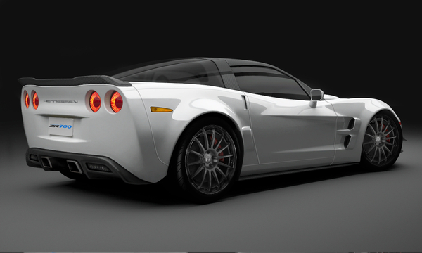 Future Hennessey Z700: la Corvette ZR1 sublimée