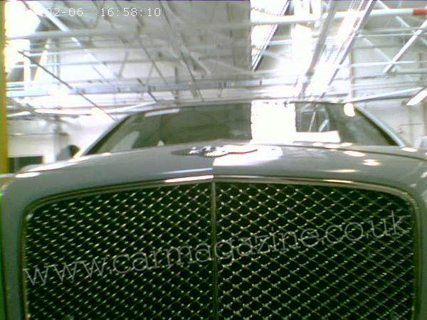 Future Bentley Arnage: 2ème volet des révélations de Car