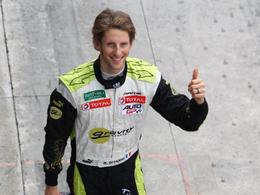 AutoGP - Romain Grosjean, 1er champion!