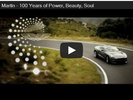 100 ans d'Aston Martin: la vidéo hommage