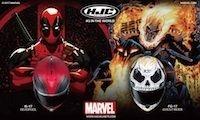 HJC, deux nouveaux Marvel en approche: Ghost Rider et Deadpool
