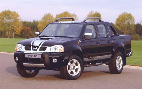 Nissan Pick-Up Double-Cab Vintage : une série limitée pour fêter un succès