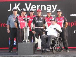 Indy Lights: le Français Jean-Karl Vernay titré