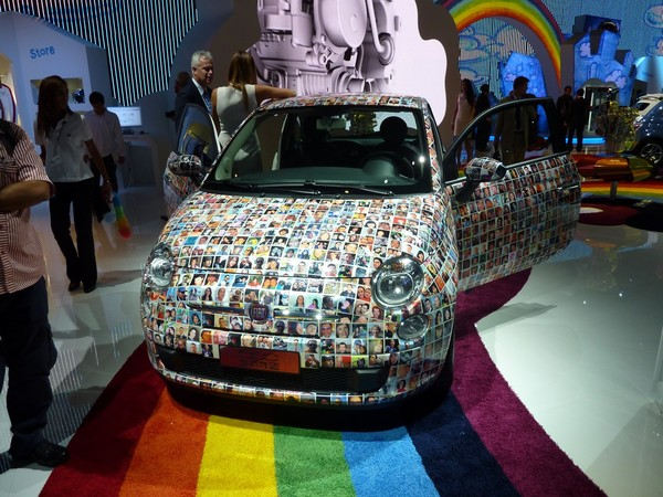 Mondial de Paris 2010 : Fiat 500 Millesima, juste pour le fun
