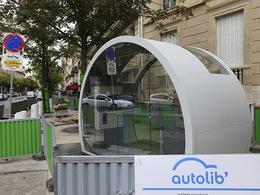 Autolib' : les premières stations s'installent