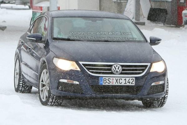 VW Passat CC dans la vraie vie