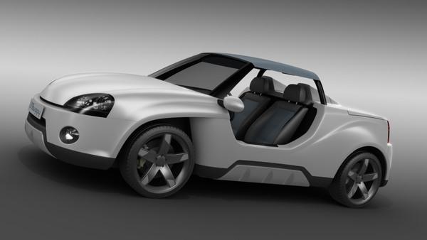 LusoMotors Buggy : une VW Golf 3 de plage