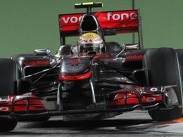 EL1 : Hamilton devance Vettel à Singapour