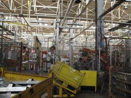Production bloquée à l'usine PSA Aulnay