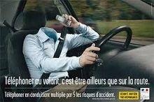 Sécurité routière : 40 % des conducteurs ne coupent pas le fil avec leur téléphone
