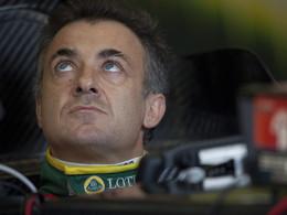 Jean Alesi revient à la compétition avec Lotus à Indy 500
