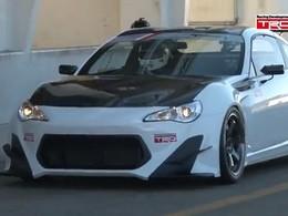 Vidéo : La Toyota GT86 TRD Griffon plus rapide qu'une 458 Italia