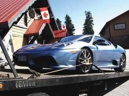 A 21 ans, il se fait confisquer sa Ferrari 430 Scuderia par la police après seulement un jour pour course sauvage