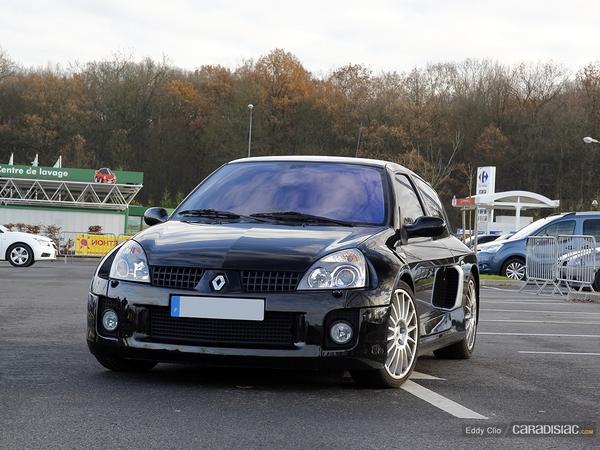 Photos du jour : Renault Clio V6 Ph.2