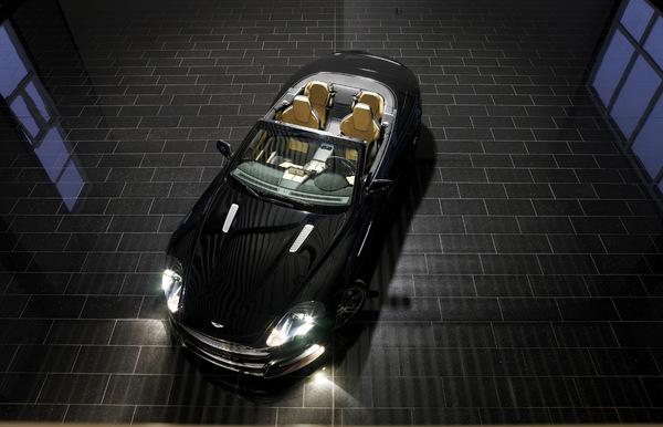 Mansory habille l'Aston Martin DB9. Encore