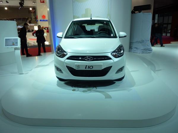 Mondial de Paris 2010 Live : Hyundai i10 restylée, plus forte en gueule