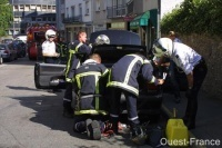 Vannes : une voiture au GPL a connu une fuite de gaz