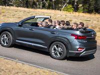 Hyundai Santa Fe : un prototype de cabriolet en Australie