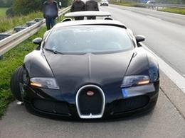 Une Bugatti Veyron se crashe en Allemagne